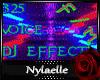 *N 325 Voice Dj effects