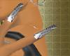 *MG* GlamSilver Nails