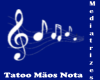 [md] Notas mãos tatoo