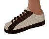 Dot Sneakers-Tan/Brown