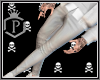 -P-  Plassic white