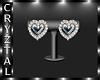 Silver Wedding Earrings