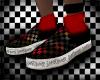 Red socks.
