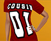 Cousin 01 Shirt Red (F)