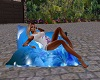 Blue Flower Cuddle Seat