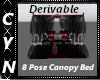 Derivable8Pose CanopyBed