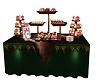 FG~ Christmas Cake Table