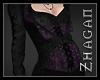 [Z] Rey Longcoat purple