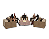 m28 Fire Chairs Set