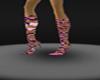 devas pink tiger boots