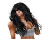 Hair Long Wavy Black Liz