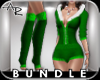 ! Holly Bundle Green