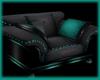 Cyan PVC- One Seater