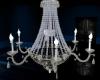 Chandelier/Glass&Silver