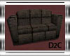 Brown Fiber Couch