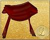 Royal Red Sheer Shawl