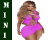 Solana Pink Dress M