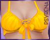 Yellow bralette top