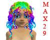 Animated Rainbow Medusa!