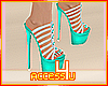 ! Agua Strapped Stiletto