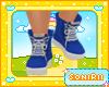KID BLUE BOOTS