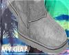 grey ugg boots.