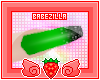 B | glitz nails. green