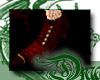 d Blood Lace Dolly Shoes