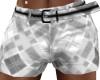 Men's Silver Shorts