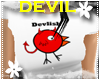 *S* Devil Chick White