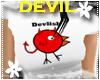 *S* Devil Chick White