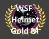WSF Gold helmet M
