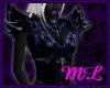 ML- Dark Elf Armor Blu