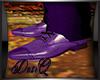 DQ Purple Dress Shoe M