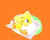 baby tweety snuggle mat