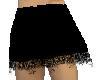 black lacy half slip