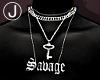Ⓙ Savage necklace!