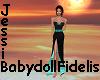 JBF Turquoise SlitDress
