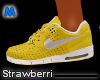 !! Air Max 90 Yellow/Wt