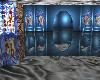 Blue Christmas Room
