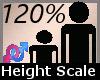 120 % height scaler