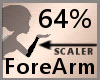 64% ForeArm Scaler F A