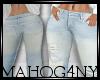 Wideleg Jeans slim