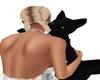 Black Cuddle Cat