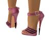 Pink & Black heels