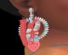 *cp*Valentine Earings