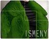 [Is] Fur Coat Green