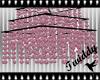 Pink Glittery Chandelier