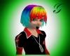 rainbow ryu hair