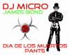 007-Dia De Muertos PANTS